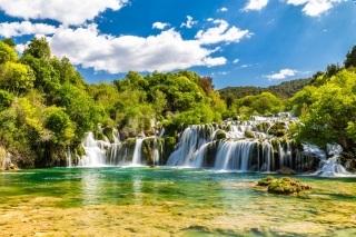 Krka Waterfalls - Adriatic Sea | Croatia Cruise