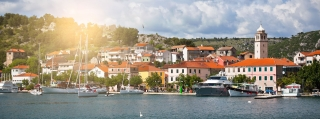 Skradin - Adriatic Sea | Croatia Cruise