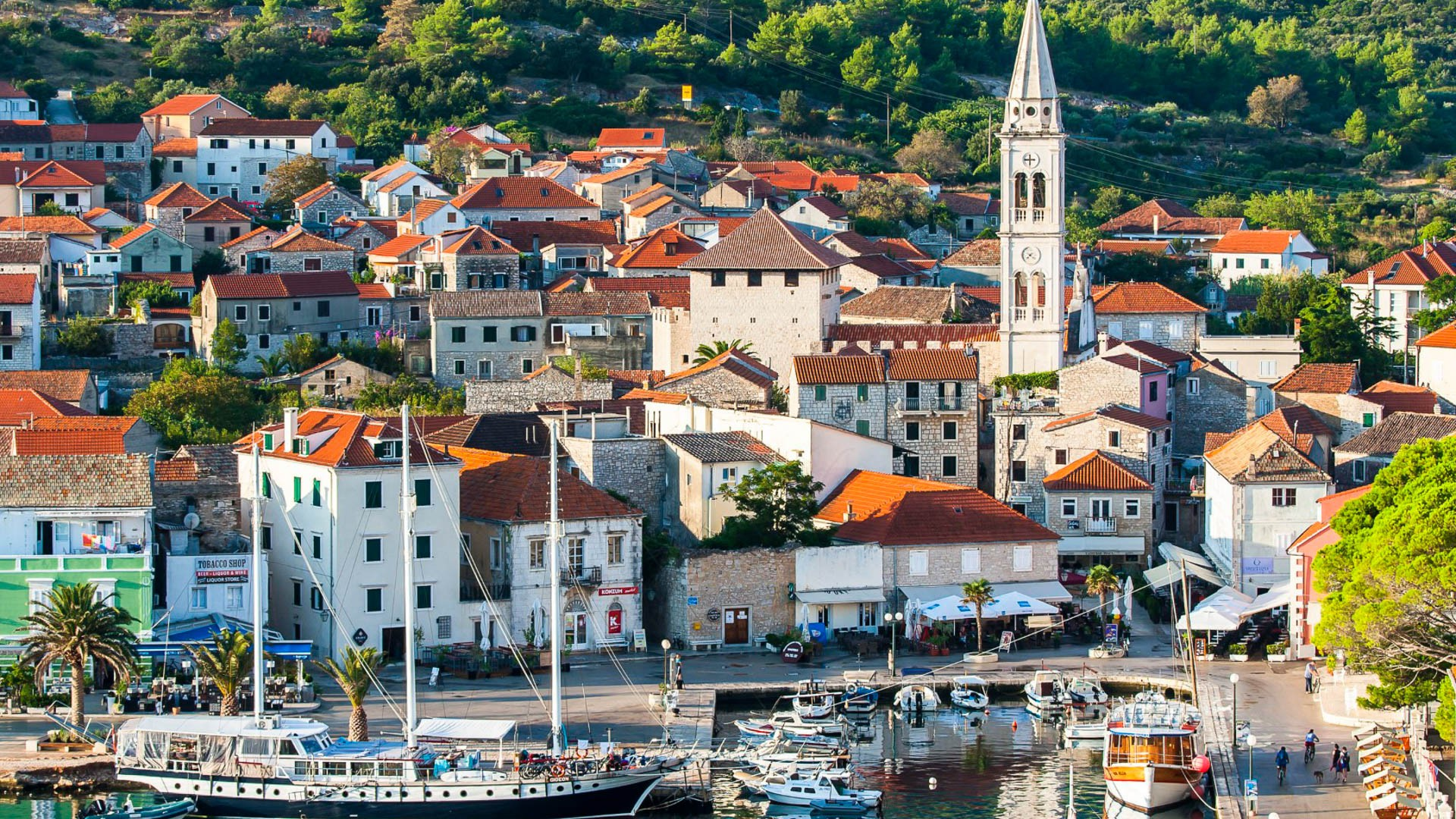 Jelsa (Hvar Island) - Adriatic Sea | Croatia Cruise Croatia Cruise