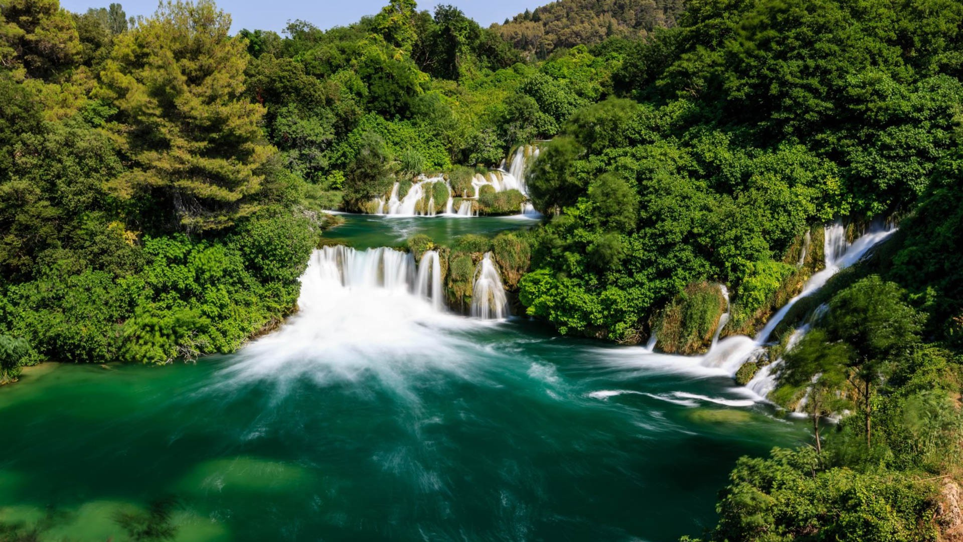 Krka Waterfalls - Adriatic Sea | Croatia Cruise Croatia Cruise