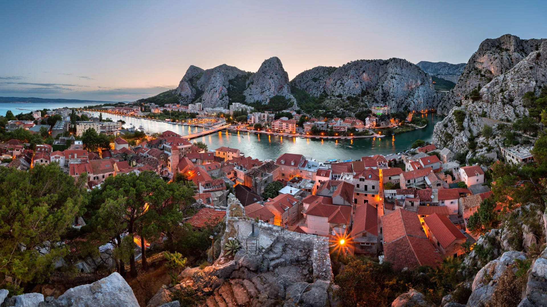 Omiš - Adriatic Sea | Croatia Cruise Croatia Cruise