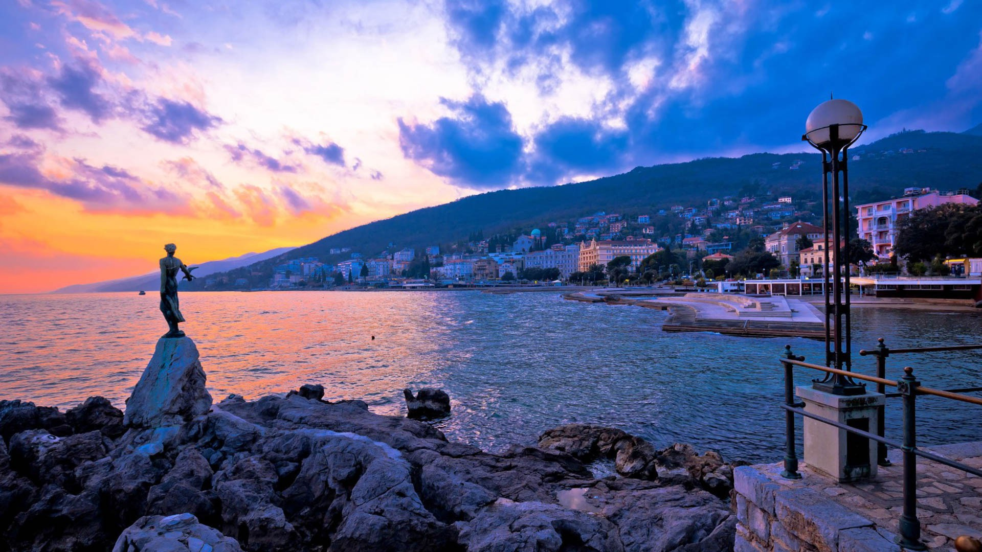 Opatija - Adriatic Sea | Croatia Cruise Croatia Cruise