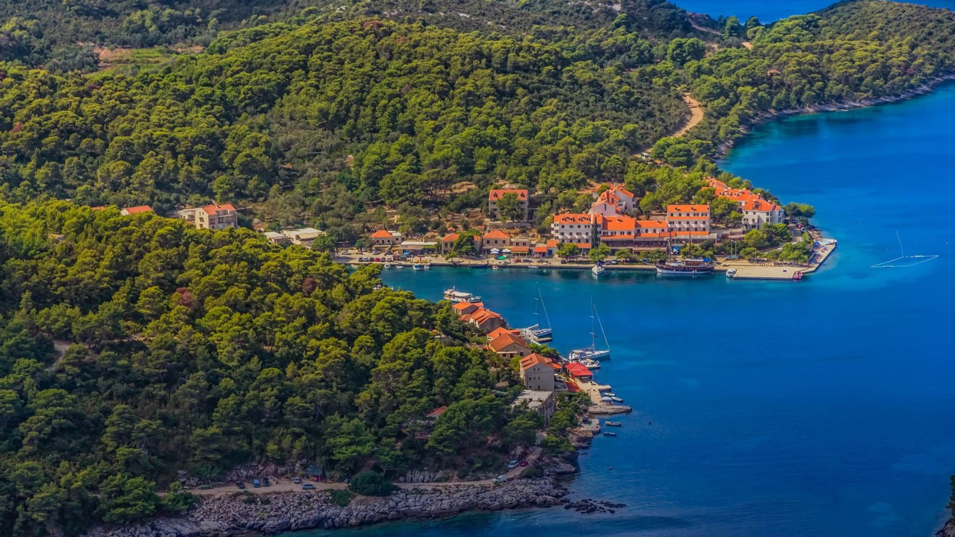 Pomena (Mljet Island) - Adriatic Sea | Croatia Cruise Croatia Cruise