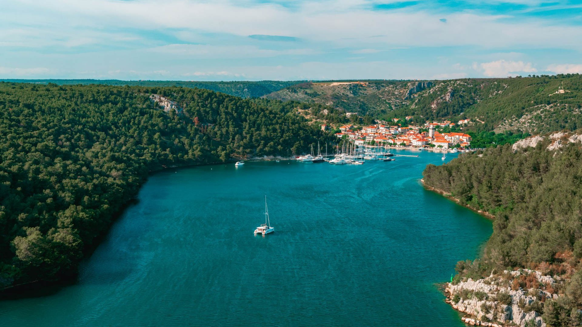 Skradin - Adriatic Sea | Croatia Cruise Croatia Cruise
