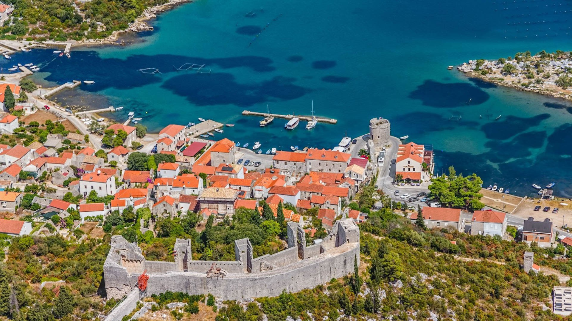Ston - Adriatic Sea | Croatia Cruise Croatia Cruise